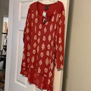 Long sleeve top size 0X